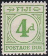 Fiji    .    SG     .   D 14       .   *      .  Mint-hinged     .   /   .    Ongebruikt - Fidschi-Inseln (...-1970)