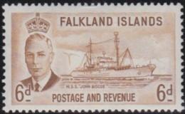 Falkland Islands     .    SG     .    178       .   *      .  Mint-hinged     .   /   .    Ongebruikt - Falklandeilanden