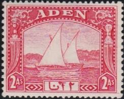 Aden     .    SG        .    4      .        *     .       Mint-hinged    .   /   .   Ongebruikt - Aden (1854-1963)