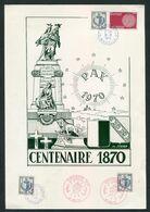 FRANCE- Centenaire 1870- PAX 1970- METZ 57 - Documenti Della Posta