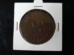 10 Centimes 1814w Siège D'Anvers N° 191c - D. 10 Céntimos
