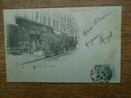Carte Assez Rare De 1903 , Châlons-sur-marne , Grand Café De La Bourse - Châlons-sur-Marne