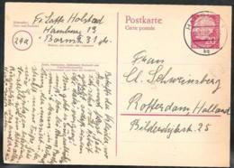 Deutschland Bund Ganzsache Mi. P27 Versanden 1958 Nach Rotterdam NL - [7] Federal Republic