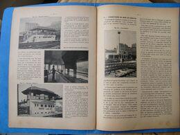 1937 SNCF Installation De Cabines électriques Dans La GARE DU NORD PARIS Chemin De Fer Train  Cheminot - Eisenbahnverkehr