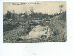 Cul Des Sarts Pont De La Pillerie ( Voies Du Tram - Carte TRES Rare ) - Cul-des-Sarts