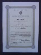 ALLEMAGNE - STRASBOURG 1889 - TITRE NOMINATIF  - VOIR SCAN - Azioni & Titoli