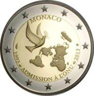 Monaco 2 Euro 2013 20 Years At E UN UNC (KM # 200) - Mónaco