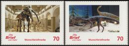 Germany 2020, Prehistoric Animal, Dinosaurs, Fossils, Natural History Museum - Timbres