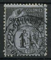 Guadeloupe (1890) N 14 (o) - Oblitérés