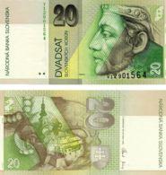 Slovakia 20 Crones 2006 UNC (P20g) - Eslovaquia