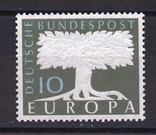 Allemagne Fédérale - Germany - Deutschland 1958 Y&T N°166 - Michel N°294 *** - 10p EUROPA - Filigrane Q - Unused Stamps