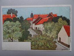 """Carte Postale Amédée Lynen """"De-ci De-là"""" à Bruxelles Et En Brabant N° 92 Neder-Over-Heembeek - Lynen, Amédée-Ernest"""