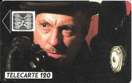 CARTE°-PUBLIC-1989-120U-F100-SC5-SERRAULT -Cinéma 1-V°6 Pe 108613-UTILISEE-TBE - 1989