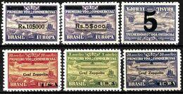 E-812 - BRASIL - 1930 - AIR MAIL - ZEPPELIN - FORGERIES, FALSES, FAKES, FAUX, FALSOS, FALSCHEN - Francobolli