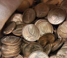 Guinea Ecuatorial Equatorial Lot 100 Coins 1 Peseta Guineana 1969 Km 1 UNC - Guinea Equatoriale