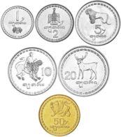 Georgia Set Of 6 Coins 1993 UNC - Georgia