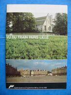 1982 Livret SNCF Vu Du Train PARIS LILLE Guide Horaire Amiens Corbie Albert Achiet Arras Douai Plouvain Corbehem Oignies - Eisenbahnverkehr