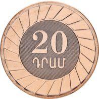 Armenia 20 Dram 2003 UNC - Armenien