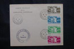 COLONIES FRANÇAISES - Enveloppe Du Comité De La Libération En 1944 De Alger -  L 68609 - Autres
