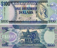 Guyana 100 Dollars 2006 UNC (P36) - Guyana