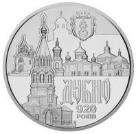 Ukraine 5 Hryvnia 2020 UNC Ancient City Dubno - Ucrania