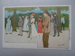 """Carte Postale Amédée Lynen """"De-ci De-là"""" à Bruxelles Et En Brabant N°124 A L'avenue Louise - Lynen, Amédée-Ernest"""