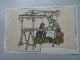 """Carte Postale Amédée Lynen """"De-ci De-là"""" à Bruxelles Et En Brabant N°125 Vieux Marché. Clefs Et Vieux Fers - Lynen, Amédée-Ernest"""