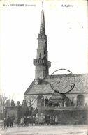 29 - Guilers - L'Eglise (animée 1915) - Francia