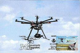 SPAIN. MAXICARD FIRST DAY. DRONE. 2020 - Cartoline Maximum