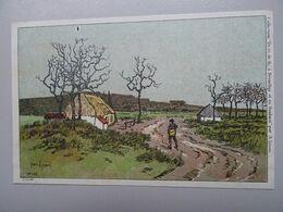 """Carte Postale Amédée Lynen """"De-ci De-là"""" à Bruxelles Et En Brabant N°139 Langdorp - Lynen, Amédée-Ernest"""