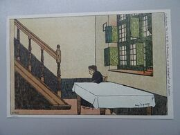 """Carte Postale Amédée Lynen """"De-ci De-là"""" à Bruxelles Et En Brabant N°140 Béguinage (Diest) - Lynen, Amédée-Ernest"""