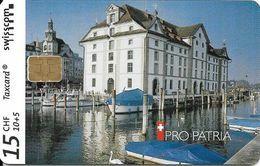 Swisscom: B-19 03/01 Pro Patria - Kornhaus Rorschach SG. Mint - Schweiz