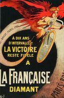 CP TOUR DE FRANCE 2018 -  Reproduction : PUBLICITÉ POUR LES BICYCLETTES FRANÇAISE DIAMANT - Cycling