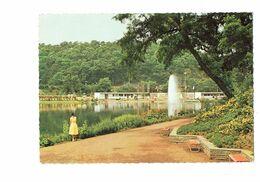 Cpa -  Allemagne - SAARBRUCKEN - Exposition Horticole 1960 FRANCO-ALLEMANDE Fontaine De L'étang - Saarbruecken