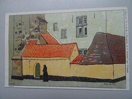 """Carte Postale Amédée Lynen """"De-ci De-là"""" à Bruxelles Et En Brabant N°144 Le Béguinage (Diest) - Lynen, Amédée-Ernest"""