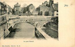 Huy * Un Coin De La Ville Et Le Pont Piercot * Cpa Dos 1900 * Liège Belgique - Huy
