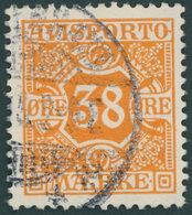 VERRECHNUNGSMARKEN V 6Y O, 1914, 30 Ø Orange, Wz. 2, Pracht, Mi. 120.- - Fiscali