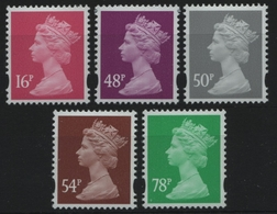 Großbritannien 2007 - Mi-Nr. 2514-2518 ** - MNH - Freimarken - Queen Elizabeth - 1952-.... (Elizabeth II)