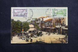 LIBAN - Affranchissement Secours Aux Réfugiés Sur Carte Postale De Beyrouth En 1926 - L 68636 - Lettres & Documents