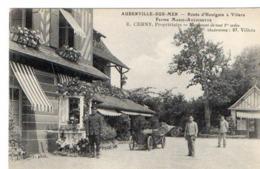 AUBERVILLE-SUR-MER - Route D'Houlgate à Villers - Ferme Marie-Antoinette - E.CERNY Propriétaire - Francia