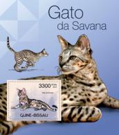 Guinea - Bissau 2012 - Cats Of Savana. Y&T 769, Mi 5936/Bl.1049 - Guinea-Bissau