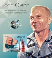 Guinea - Bissau 2012 - John Glenn & Friendship 7. Y&T 772, Mi 5886/Bl.1039 - Guinea-Bissau