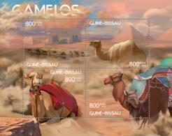 Guinea - Bissau 2012 - Camels. Y&T 4534-4537, Mi 6217-6220 - Guinea-Bissau
