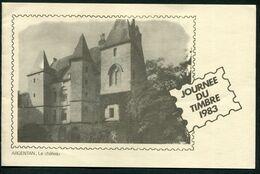 FRANCE- Document 1er Jour Timbre- Journée Du Timbre 26 Février 1983- ARGENTAN (61) - Journée Du Timbre