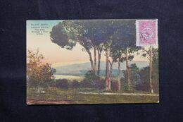 TURQUIE - Affranchissement Ottoman Sur Carte Postale De Beyrouth Pour Les Etats Unis - L 68643 - Cartas