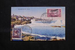 LIBAN - Affranchissement Plaisant Dont PA Sur Carte Postale  De Beyrouth En 1930 - L 68645 - Lettres & Documents