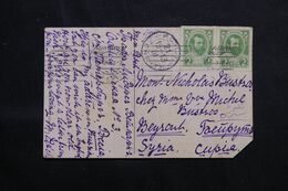 RUSSIE - Carte Postale ( Royauté )  Pour Beyrouth En 1913  - L 68652 - Storia Postale