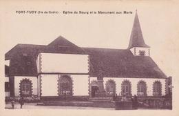56 GROIX    Eglise Du Bourg Et  Monument Aux Morts       PLAN 1929  PAS COURANT - Groix