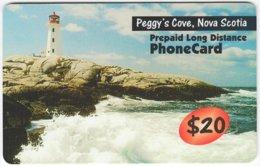 CANADA A-414 Prepaid - Landscape, Coast, Lighthouse - Used - Canada