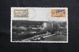 LIBAN - Affranchissement Plaisant De Beyrouth Sur Carte Postale  - L 68671 - Lettres & Documents